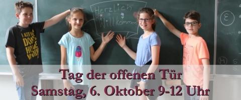 Tag der Offenen Tür am Samstag, 6. Oktober