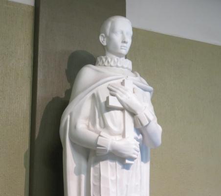 Aloisius von Gonzaga - im Foyer des Aloisiuskolleg Bonn