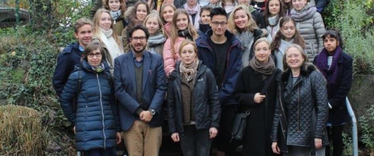 Aloisiuskolleg Gastgeber für über 50 Jugendliche aus Mittel und Osteuropa