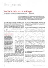 Dr. Andreas Verhülsdonk, 2013: Glaube ist mehr als ein Kulturgut (HK)