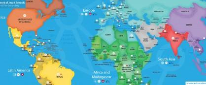 Pädagogische Einrichtungen in Tradition der Jesuiten weltweit