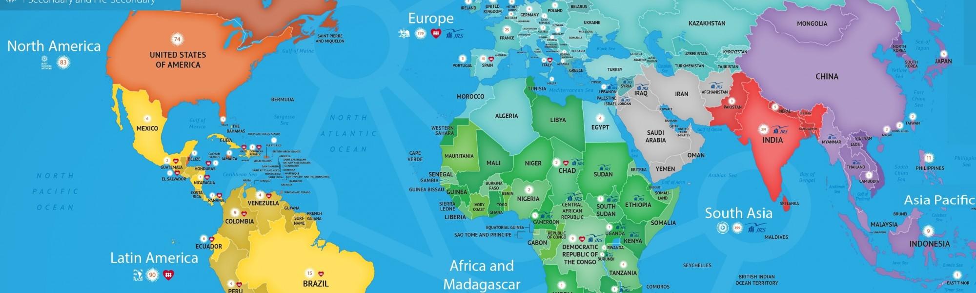 Jesuitenschulen weltweit 2017